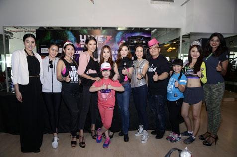 Celebs taking part in this year's U We Glow Fun Run 2016