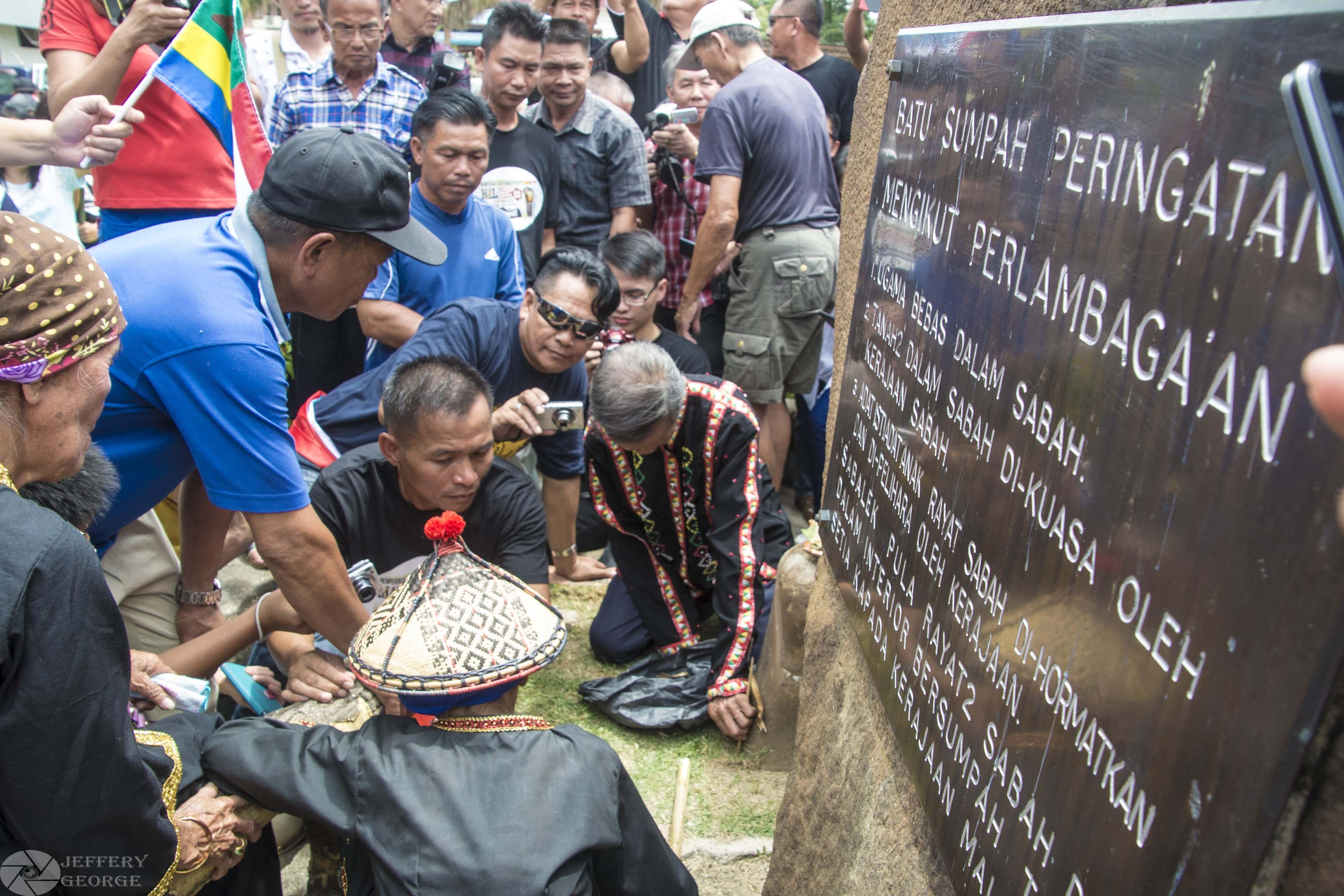 Batu Sumpah Ceremony