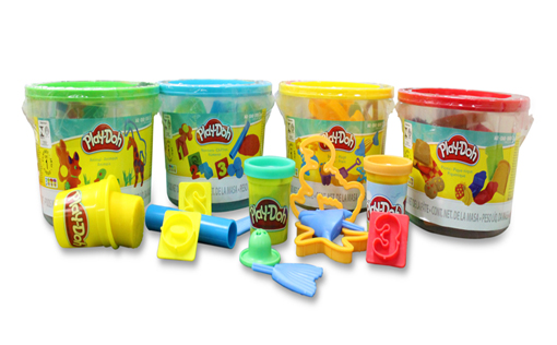 Four variations of the Play-Doh Mini Bucket Assortment namely, Beach Mini Bucket, Picnic Mini Bucket, Animal Mini Bucket, and Numbers Mini Bucket are up for grabs