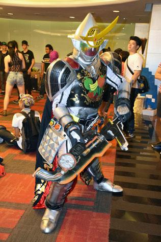 Kamen Rider (Masked Rider) from television and manga series)