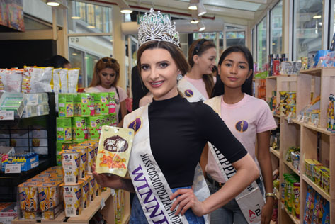 Miss Cosmopolitan World 2015 Rachel Harradence