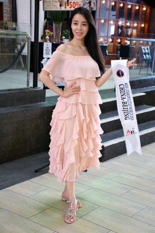 Miss Cosmopolitan World China (Beijing) 2016 - Li Yu Yang