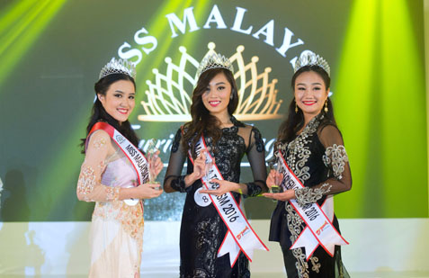 Crowning Of Three Miss Malaysia Tourism Titles In One Night