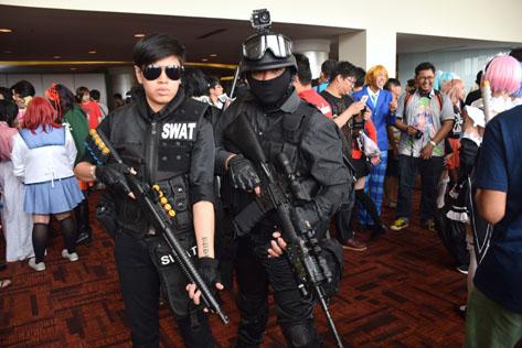 The SWAT team @ Animangaki 2016