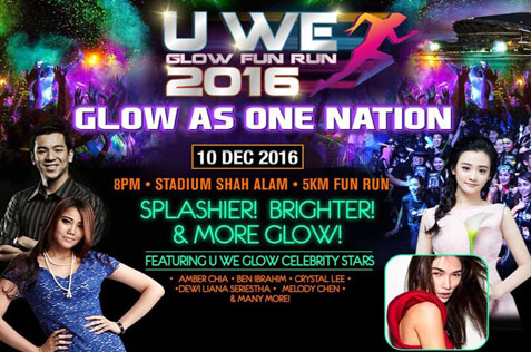 U We Glow Fun Run 2016 Returns This Dec