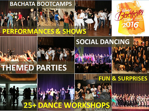 This year's event in its 4th successful year will consists of 3 days and 2 nights of performances, workshops and dance parties