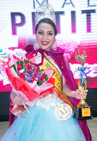 Joanne Dayang was crowned Miss Malaysia Petite World 2017 on 8 Oct at Wisma Huazong in Seri Kembangan