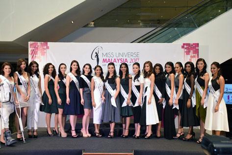 Miss Universe Malaysia 2017 Finalists