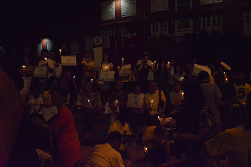 Vigil will be held every night until Maria is released