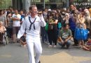 US Sailor Surprises Crowd with a Malay Song at eCurve