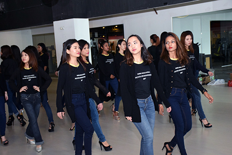 Miss Malaysia Petite SpokesPerson Finalists Get Ready For The Big Day
