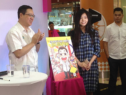 Cartoonist Tomato Holds Book-Signing Session at 1 Utama