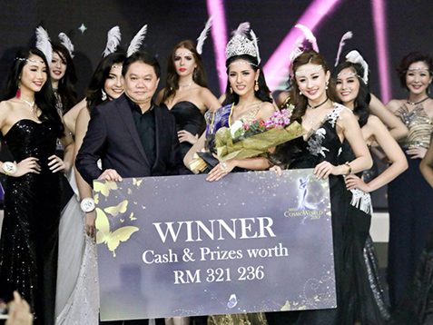 Thai model, 24, wins Miss CosmoWorld 2017