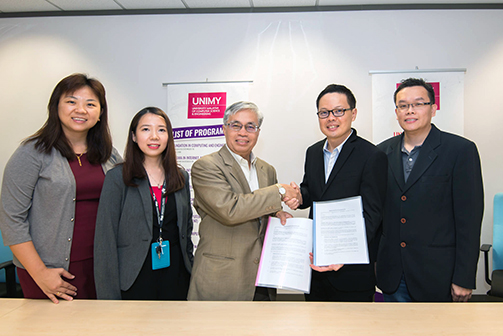 UNIMY signs MOU with Fusionex to produce data professionals