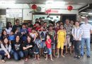 Rumah Victory kids get special treat from the Curve