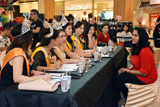 Mrs Malaysia Universe 2018 aspirants turn up for auditions
