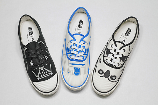 Special Star Wars-inspired shoes from Bata to delight fans