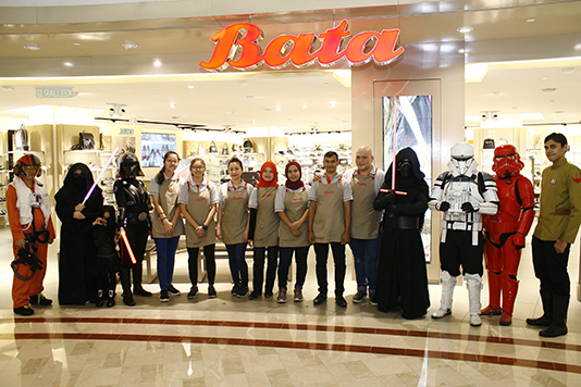 Bata brings on the Force on Star Wars Day