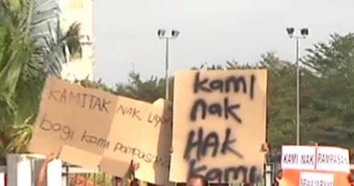 400 Megasteel workers to picket demanding compensation