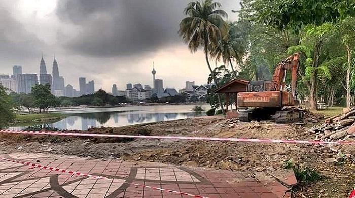 Taman Titiwangsa ditutup