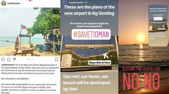 Villagers fight to save Tioman reefs