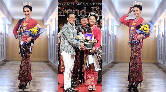 18-year old student crowned Miss Malaysia Kebaya 2018