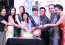 Newly crowned Renee Tang hosts title-winning party