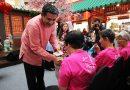 Rumah Charis senior citizens enjoy Chinese New Year treat