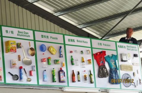 Kluang Tzu Chi Foundation launched recycling educational centre