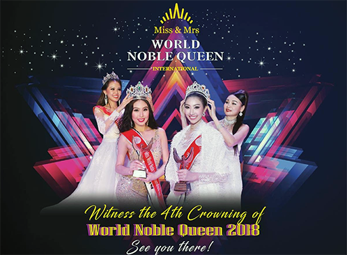 Homegrown World Noble Queen 2018 finals to be held in Cambodia