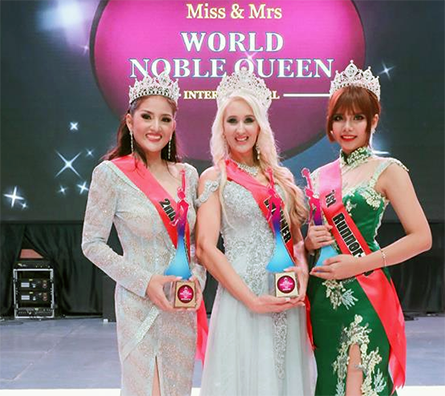 Home grown pageant produced Malaysia's first runner-up winner